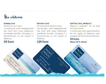 Palma Beach Card